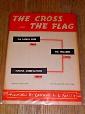 """The Cross and the Flag"" magazine, Feb. 1970, Gerald Smith / White Nationalism"