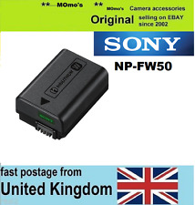 Genuine Original SONY NP-FW50 Battery Alpha ILCE- 5000 A5000 A5100 A3000 A6000