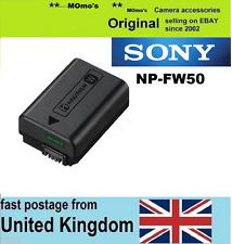 Genuino Original Sony NP-FW50 Batería Alpha ILCE - 5000 A5000 A5100 A3000 A6000