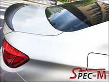 New Performance High Kick Jet Black Trunk Lip Spoiler For F10 528i 535i 550i M5