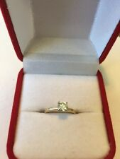 14 Kt Diamond Solitaire ,approx 1/2 Ct