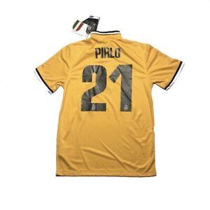 Men Juventus Away 2013 #21 PIRLO Soccer Maglia Trikot Maillot Shirt Football NEW