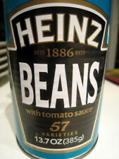 More details for tin of beans