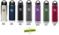 Klean Kanteen 20oz Best Vacuum Insulated  Bottle Hot& Cold  ( choose your color)