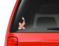 Watercolor Japanese Koi Fish - Full Color Vinyl Decal for Car, Macbook, ect.