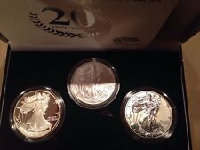 2006-W 20th Anniversary Silver Eagle Set