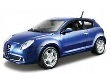 ALFA ROMEO MITO 1:24 scale blue diecast model die cast vintage car miniature