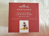Hallmark 2018 Disney Snow White and the Seven Dwarfs 80th Anniversary Ornament