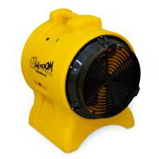 "Zoom 8"" 1/3 HP Ventilator Exhaust Fan Ductable Dryer 2-in-1 Function Air Mover"