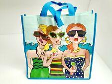 Vintage Reusable Shopping Tote Bag Beach Ladies Re Bag Reduce Reuse Recycle