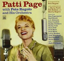 Patti Page PATTI PAGE WITH PETE RUGOLO & HIS ORCHESTRA (2 LP ON 1 CD)