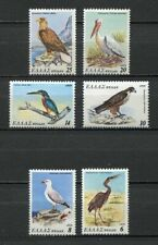 s2355) GREECE 1979 MNH** Nuovi** Birds conservation 6v