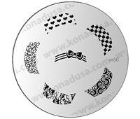 1  Konad Stamping Nail Nails Design Art Image Plate M56 USA SELLER