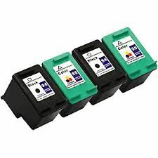 4x Compatible Ink Cartridges for 2x HP 94 Black C8765WN + 2x HP 95 Color C8766WN