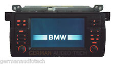 BMW E46 NAVIGATION WIDE SCREEN 16:9 MONITOR RADIO 1999-2006 323 325 328 330 M3