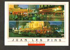 "JUAN LES PINS (06) BARS-RESTAURANTS ""LE FESTIVAL"" & ""PAMPAM"" animés"