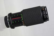 Minolta MD Mount Zykkor 80-200mm f/4.5 Macro Zoom Lens Used