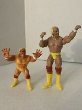 WWE Hulk Hogan Action Figure Lot (1990 Titan Figure) & 2011 Mattel