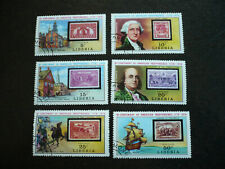 Stamps - Liberia - Scott# 703-708