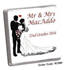 Articles de mariage multicolores, personnalisés