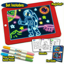 Xmas Gift 3D Magic Drawing Pad Heiß Malen LED Pad Kinder Weihnachtsgeschenk