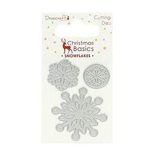 Dovecraft Dies - Christmas Basics - Snowflakes