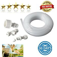 Swimming Pool Spa Water Slide Garden Hose Connector Nozzle Fittings Spray Kit