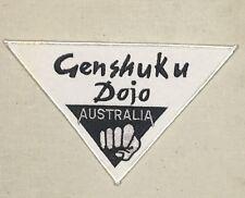 Genshuku Dojo Australia Patch