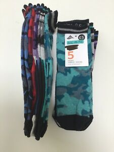 MARKS AND SPENCER CHILDRENS Camouflage  KIDS SOCKS 5 PAIRS