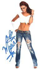 Maria Kanellis  WWE Diva / ROH Autograph Signed 8x10 Photo #31A Playboy Impact