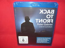 PETER GABRIEL =Back To Front:Live In London =Blu–ray/Neu