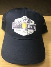 Beers Brats And Bras SOL Blue Mesh Trucker Hat Baseball Cap Hat