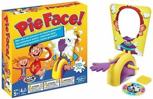 HOT HASBRO PIE-FACE PARTY GAME FAMILY /CHILDREN GAME+BOX BEST XMAX GIFT