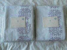 New listing New Pottery Barn Kid'S Mia Blackout Panel Panneau Occultant Set Of 2 44X63Inches