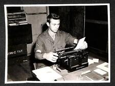 556TH A.S.G. BELLOWS FIELD HAWAII WWII TYPEWRITER MILITARY PHOTOGRAPH 1945 (56)
