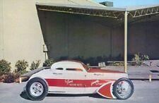 Vintage Barris Dobie Gillis Coupe TV Show Hot Rod Photo POSTCARD gasser custom