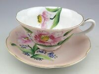 Vintage Porcelain UCAGCO Hand Painted Japan Cup and Saucer