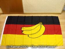 Fahnen Flagge Deutschland Bananenrepublik3 Bananen- 90 x 150 cm