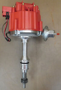 Professional Products PC6002D HEI Ford 351W Dist, 65,000KV, Vac & Mech Adv, Red