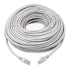 10m RJ45 Cat6 Ethernet Network LAN CABLE Gigabit Patch Internet Router LONG Grey