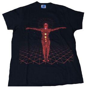 2.Wahl Rare Unworn The Black Eyed Peas Neon Man Hip Hop Band LA USA T-Shirt g.S