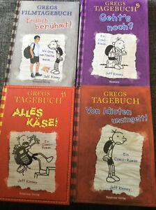 Gregs Tagebuch - Band 1 5 11 Filmtagebuch [4x Bände HC] Idioten umzingelt Käse
