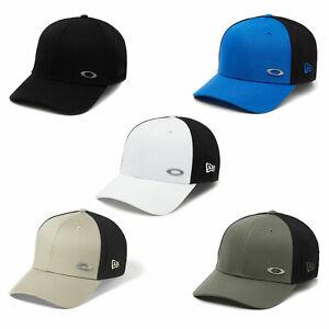 Oakley Tinfoil Cap Basecap Baseball Cap Stretch Fit Cap