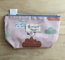 "Cute! Korean Cosmetics Bag-Clouds + Birds  Cosmetics Bag-Coated 7""-UNIQUE BRAND"