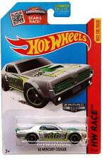 2015 Hot Wheels #181 HW Race Track Aces '68 Mercury Cougar ZAMAC