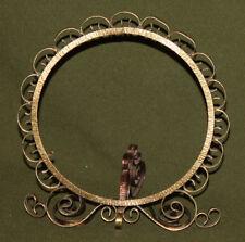 Vintage brass mirror/picture/photo frame