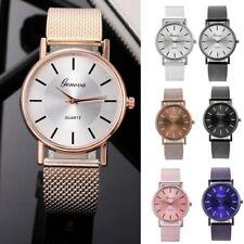 Women Quartz Watch High-end Blue Glass Life Waterproof Analog Wristwatch Watches