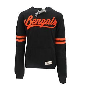 Cincinnati Bengals Official NFL Teen Juniors Girls Size Hooded Sweatshirt New