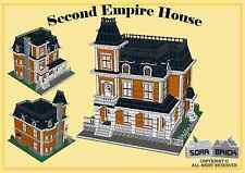 Custom instruction, consisting of LEGO elements - Second Empire House