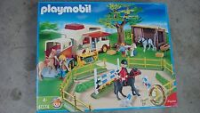 Playmobil 4074 Equestrians very rare set for collectors mint NEW in box Geobra